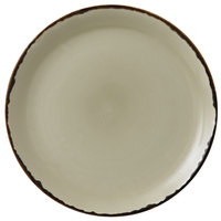 Dudson HL288 Harvest 11 1/4 inch Linen Coupe Round China Plate by Arc Cardinal - 12/Case