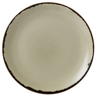 Dudson HL260 Harvest 10 1/4 inch Linen Coupe Round China Plate by Arc Cardinal - 12/Case