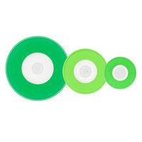 OXO 11242700 Good Grips 3-Piece Green Silicone Reusable Mixing Bowl Cover Set