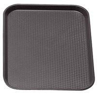 Brown Cambro 1216FF167 12 inch x 16 inch Customizable Fast Food Tray 24/Case