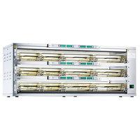 Prince Castle DHB3PT-41A Dual-Sided 3 Shelf /12 Pan Dedicated Holding Bin - 208-240V, 5700W