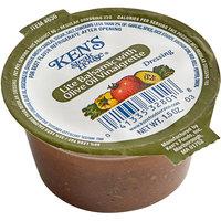 Ken's Foods 1.5 oz. Lite Balsamic with Olive Oil Vinaigrette Dressing Cup - 100/Case