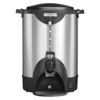 Hamilton Beach HCU075S 75 Cup (375 oz.) Double Wall Stainless Steel Coffee Urn - 1440W