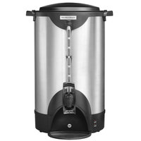 Hamilton Beach HCU100S 100 Cup (500 oz.) Double Wall Stainless Steel Coffee Urn - 1440W