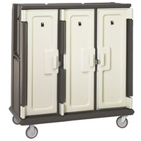 Cambro MDC1411T60194 Granite Sand Meal Delivery Cart with Security Package