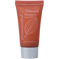 Ecossential Naturals Hotel and Motel Shampoo and Conditioner 0.5 oz. Bottle - 400/Case