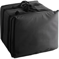 American Metalcraft BLBAG19 Deluxe Black Polyester Replacement Pizza Delivery Bag, 19 1/2 inch x 19 1/2 inch x 14 1/2 inch