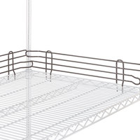 Metro L24N-4-DCH Super Erecta Copper Hammertone Stackable Ledge 24 inch x 4 inch