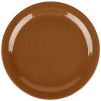 Carlisle 4385043 Toffee Dayton 10 1/4 inch Melamine Plate - 48/Case