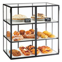 Cal-Mil 22116-13 Monterey 3 Tier Bakery Display Case - 26 1/2 inch x 17 inch x 26 3/4 inch