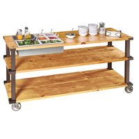Cal-Mil 22104-55 Sierra 26 inch x 21 1/4 inch x 9 inch Cold Food Well with Condensation Liner