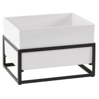 Cal-Mil 22020-10-13 Monterey 12 1/4 inch x 9 1/2 inch x 8 1/2 inch Ice Housing with White Melamine Pan