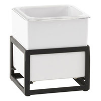 Cal-Mil 22020-6-13 Monterey 6 1/2 inch x 7 inch x 8 inch Ice Housing with White Melamine Pan