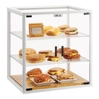 Cal-Mil 4312-15 Monterey White Bakery Display Case - 21 inch x 17 inch x 23 1/4 inch