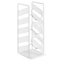 Cal-Mil 4105-15 Portland White 3-Cylinder Vertical Flatware / Condiment Display