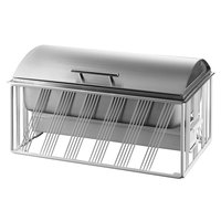 Cal-Mil 4113-15 Portland Full Size White Chafer - 22 inch x 13 1/2 inch x 12 inch