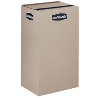 Rubbermaid FGNC30 Collect-A-Cube 28.5 Gallon Beige Recycling Receptacle