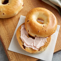 Original Bagel 4.5 oz. New York Style Cranberry Bagel   - 75/Case