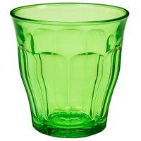 Duralex 1027SR06SC Picardie 8.75 oz. Green Stackable Glass Tumbler   - 48/Case