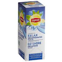 Lipton Decaffeinated Black Tea Bags   - 28/Box