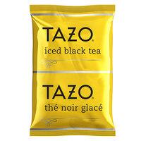 Tazo 3 Gallon Black Loose Leaf Iced Tea Packets - 48/Case
