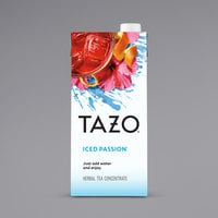 Tazo 32 oz. Passion Iced Herbal Tea 1:1 Concentrate