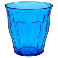 Duralex 1027SR06SB Picardie 8.75 oz. Blue Stackable Glass Tumbler   - 48/Case