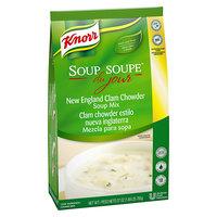 Knorr 27 oz. Soup du Jour Clam Chowder Soup Mix - 4/Case