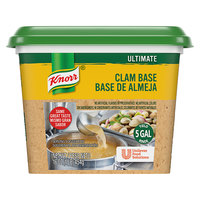 Knorr 1 lb. Ultimate Clam Bouillon Base - 6/Case