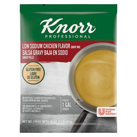Knorr 1 lb. Low Sodium Chicken Gravy Mix - 6/Case