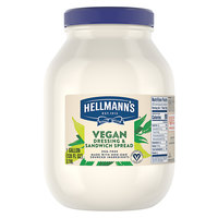 Hellmann's 1 Gallon Vegan Mayonnaise Spread - 4/Case