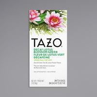 Tazo Decaf Lotus Blossom Green Tea Bags - 24/Box
