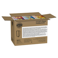 Lipton 28-Count Assorted Herbal Tea Bag Pack - 6/Case