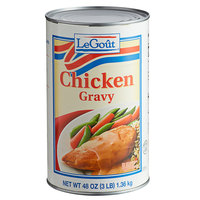 LeGout #5 Can Chicken Gravy - 12/Case