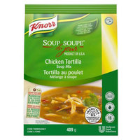 Knorr 14.4 oz. Soup du Jour Chicken Tortilla Soup Mix - 4/Case