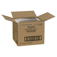 Tazo 1 Gallon Passion Herbal Iced Tea Filter Bags - 24/Case