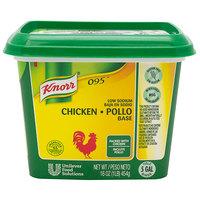 Knorr 1 lb. 095 Low Sodium Chicken Bouillon Base   - 12/Case