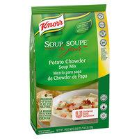 Knorr 26.6 oz. Soup du Jour Potato Chowder Soup Mix - 4/Case