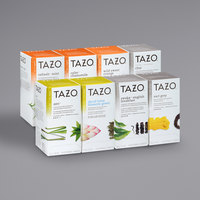 Tazo 24-Count Assorted Tea and Herbal Tea Bag Variety Pack - 16/Case