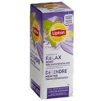 Lipton Mint Herbal Tea Bags - 28/Box