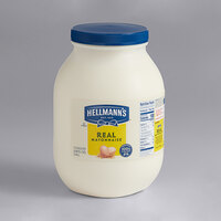 Hellmann's 1 Gallon Real Mayonnaise - 4/Case