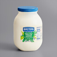 Best Foods 1 Gallon Heavy Duty Vegan Mayonnaise Spread - 4/Case