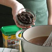 Knorr 1 lb. Ultimate Low Sodium Beef Bouillon Base - 6/Case