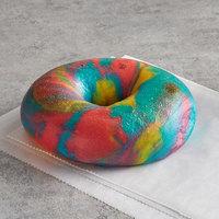 Original Bagel 4.5 oz. New York Style Rainbow Bagel   - 75/Case