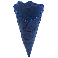 The Konery Salted Blue Corn Waffle Cones   - 144/Case