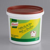 Knorr 4.4 lb. Caldo de Res / Beef Bouillon Base - 4/Case