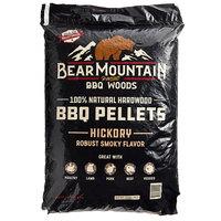 Bear Mountain 100% Natural Hardwood Hickory BBQ Pellets - 20 lb.
