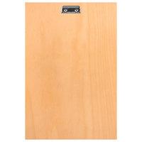 H. Risch BIRCH-MBCLIP 11 inch x 17 inch Birch Menu Board with Clip