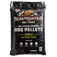 Bear Mountain 100% Natural Hardwood Apple BBQ Pellets - 20 lb.