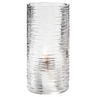 Hollowick 48025C Typhoon Clear Glass Full-Size Clear Cylinder Lamp